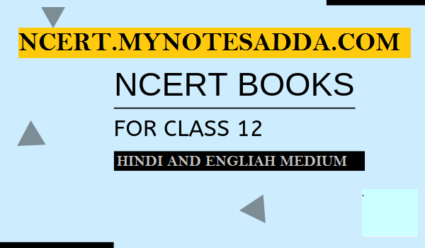 NCERT Chemistry Book for Class 12 PDF