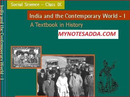 NCERT History Book For Class 9