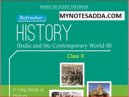 NCERT History Book For Class 10