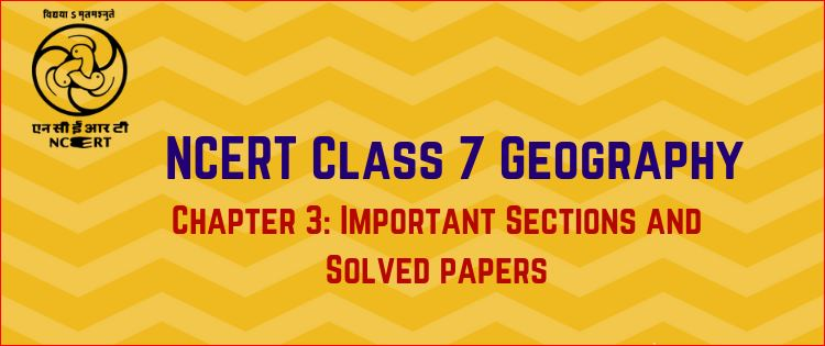 NCERT Geography Book For Class 7