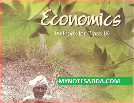 NCERT Economy Book For Class 9