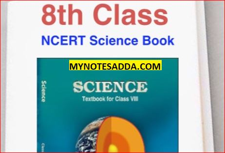 NCERT Science Book For Class 8