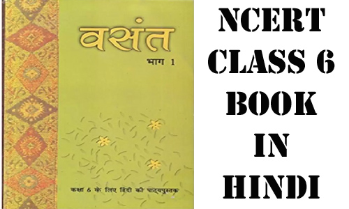 NCERT Hindi Book for class 6