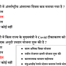 6 April 2021 Daily Current Affairs in Hindi PDF
